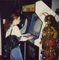 arcade cabs from Game-on 2002,Barbican Centre-London